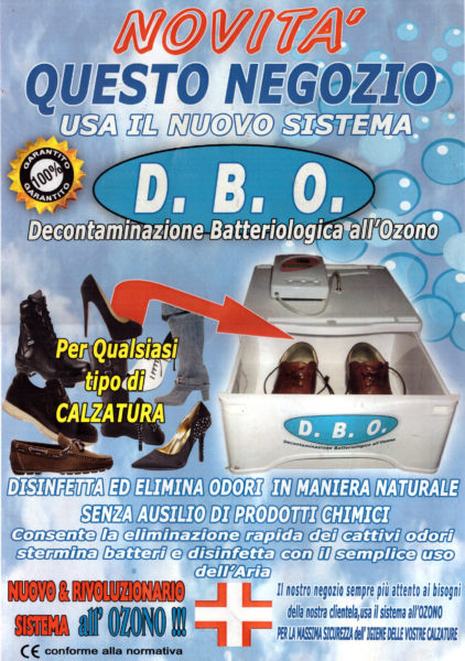 D.B.O. Decontaminazione Batteriologica all'Ozono